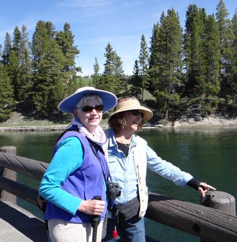 005 Anita and Toby at Fishing Bridge