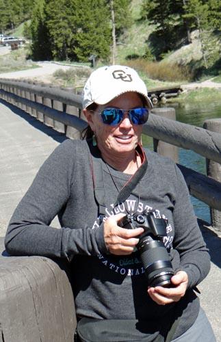 006 Sue on Fishing Bridge