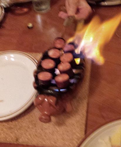 028 flaming pig